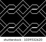 design seamless monochrome... | Shutterstock .eps vector #1039532620