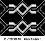 design seamless monochrome... | Shutterstock .eps vector #1039533094