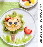Funny Cute Owl Pancake With...