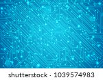 abstract technology circuit...   Shutterstock .eps vector #1039574983