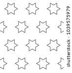 seamless vector pattern in... | Shutterstock .eps vector #1039575979
