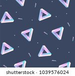 seamles geometric pattern with... | Shutterstock .eps vector #1039576024
