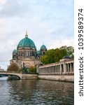 Small photo of Berliner Dom (Berlin cathedral) over Spree river