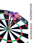 Small photo of darts, darts hit the center