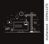 flat mobile ui ux design web...