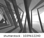 dark empty room. concrete rusty ... | Shutterstock . vector #1039612240