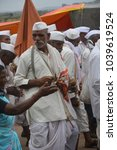 Small photo of Alandi,Pune, 2013, People having fun during a religious pilgrimage called wari in India.