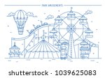 nice horizontal banner of... | Shutterstock . vector #1039625083