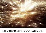 Abstract gold background. Explosion star with gloss and lines. Illustration beautiful.