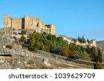 castle of siguenza guadalajara...   Shutterstock . vector #1039629709