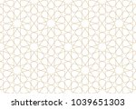 seamless pattern in authentic... | Shutterstock .eps vector #1039651303