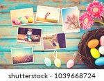 photo album in remembrance and... | Shutterstock . vector #1039668724