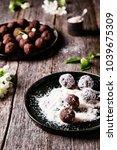 homemade healthy vegan...   Shutterstock . vector #1039675309