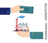 business acquisition deal.... | Shutterstock .eps vector #1039679728