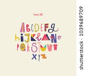 Colorful Modern Alphabet For...