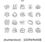 accessories well crafted pixel... | Shutterstock .eps vector #1039696408
