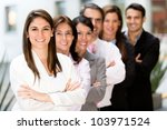 business team at the office... | Shutterstock . vector #103971524