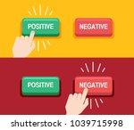 customer review concept. hand... | Shutterstock .eps vector #1039715998