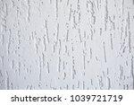 decorative plaster texture  ... | Shutterstock . vector #1039721719