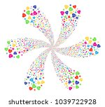 bright cardiology cyclonic... | Shutterstock .eps vector #1039722928