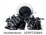 ayurvedic herb liquorice root... | Shutterstock . vector #1039732864