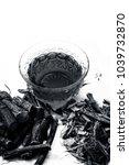 ayurvedic herb liquorice root... | Shutterstock . vector #1039732870