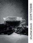 ayurvedic herb liquorice root... | Shutterstock . vector #1039732888
