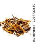 close up of ayurvedic herb... | Shutterstock . vector #1039733650