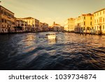 wonderful view of grand canal... | Shutterstock . vector #1039734874