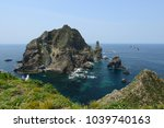 Dokdo Island In South Korea.