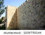 closeup of the outer wall of... | Shutterstock . vector #1039750144