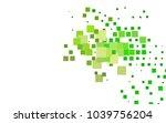 dark green vector abstract... | Shutterstock .eps vector #1039756204