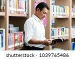the professor is searching for... | Shutterstock . vector #1039765486