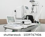 diagnostic ophthalmologic... | Shutterstock . vector #1039767406
