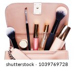 fashion concept   flat lay of... | Shutterstock . vector #1039769728