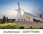 st paul's cathedral in abidjan. | Shutterstock . vector #1039770580