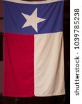 Small photo of the old flag of the American state of Texas