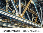 the structural elements of the... | Shutterstock . vector #1039789318