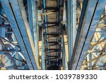 the structural elements of the... | Shutterstock . vector #1039789330
