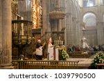 santiago   june 13  santiago... | Shutterstock . vector #1039790500