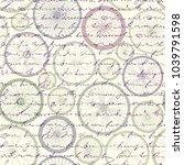 seamless background pattern.... | Shutterstock .eps vector #1039791598