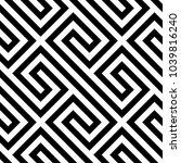 geometric pattern. vector... | Shutterstock .eps vector #1039816240