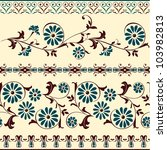 webbing  lace  border  banner... | Shutterstock .eps vector #103982813
