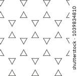 seamless geometric ornamnetal...   Shutterstock .eps vector #1039834810