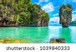 phuket thailand island scenery... | Shutterstock . vector #1039840333