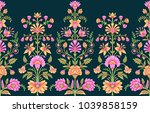 seamless traditional indian... | Shutterstock . vector #1039858159