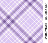 Plaid Check Pattern In Pastel...