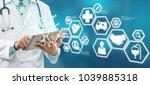 health insurance concept  ... | Shutterstock . vector #1039885318
