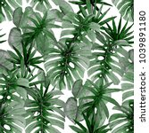 watercolor seamless pattern... | Shutterstock . vector #1039891180
