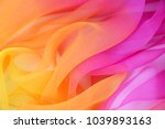 texture chiffon fabric pink and ... | Shutterstock . vector #1039893163